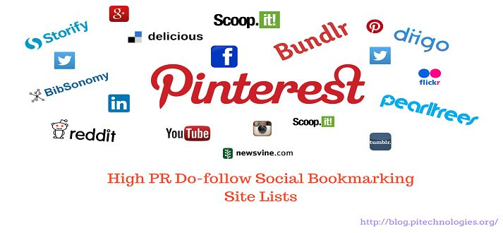 Social Bookmarking Sites are one of the well known sources of High Quality Do follow backlinks. Do-Follow Social Bookmarking Sites backlink play an important role in SEO.