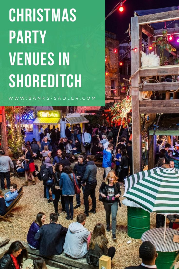 Top Christmas party venues in Shoreditch, East London