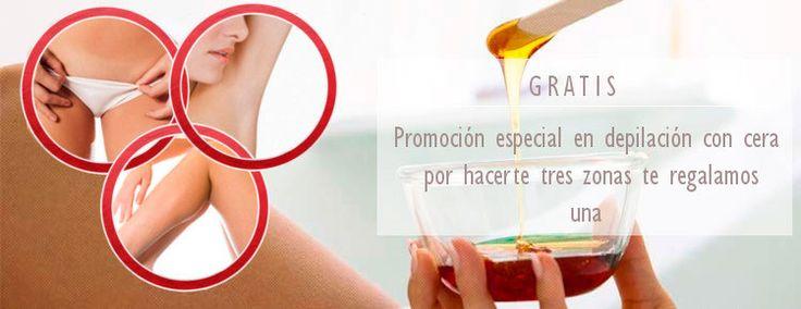 Promoción en depilación con cera en Tiendas Agatha Granada