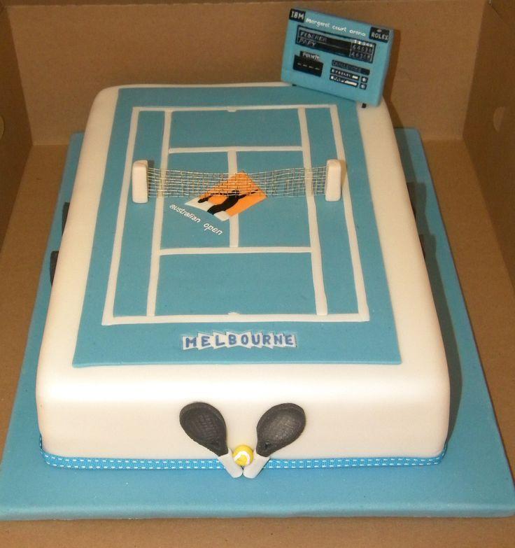 Australian Open cake