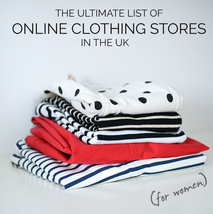 UK online clothing stores for women - directory on women's online clothing stores in the UK