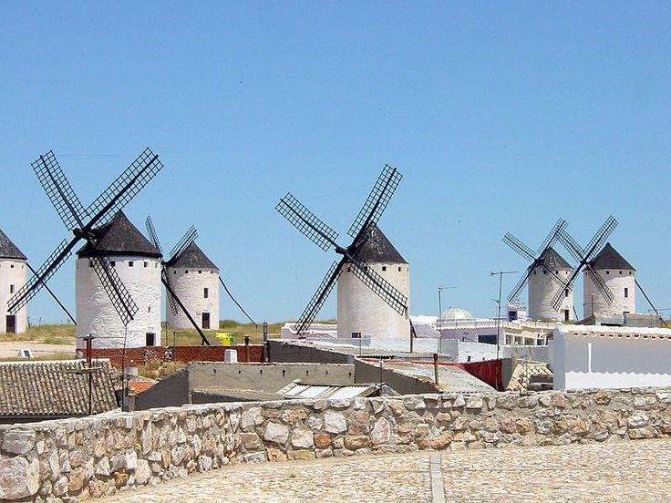 Campo de Criptana Molinos de Viento 1 - Anexo:Patrimonio de la Humanidad en España - Wikipedia, la enciclopedia libre