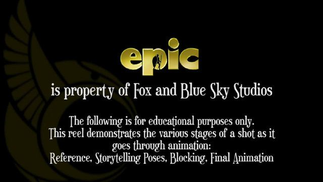 """Epic is the property of Fox entertainment and Blue Sky Studios. This comparison reel is a bit different than those I've done before. To help students understand the blocking process further, I've added a """"storytelling poses"""" section that shows each shot in the earliest phase of exploring acting decisions. As always, the comparison reel is meant for educational purposes only. Epic was far and away my most enjoyable film experience to date, and I am extremely proud of the wor…"""