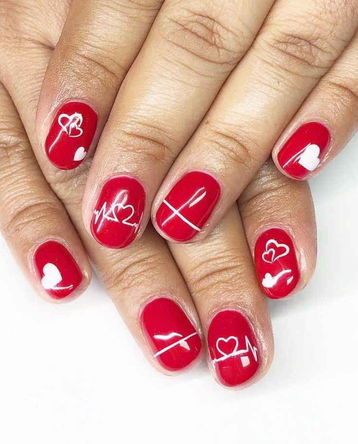 Acrylic nails by Erika | Nail art designs, Nails, Nail art
