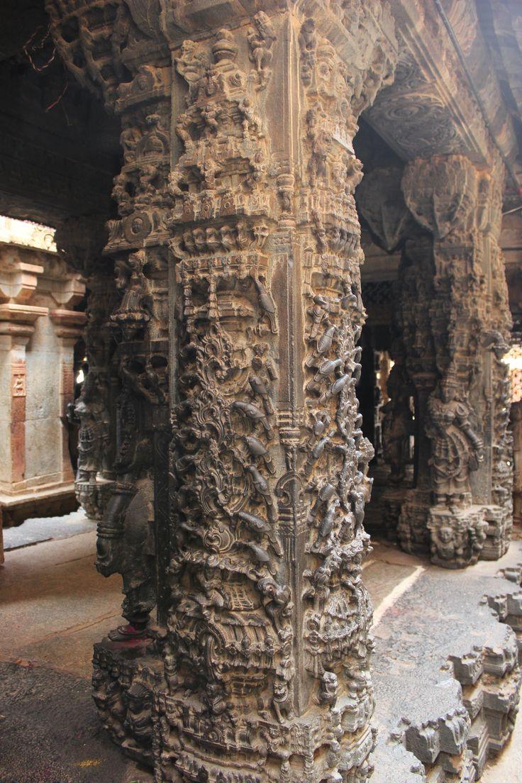 Ornate_pillars_in_Bhoganandishvara_group_of_temples-a_Hoysala_contribution_at_Chikkaballapur_district.JPG (3456×5184)