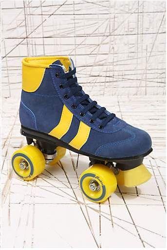 Ouderwetse rolschaatsen - Spotted on Milledoni