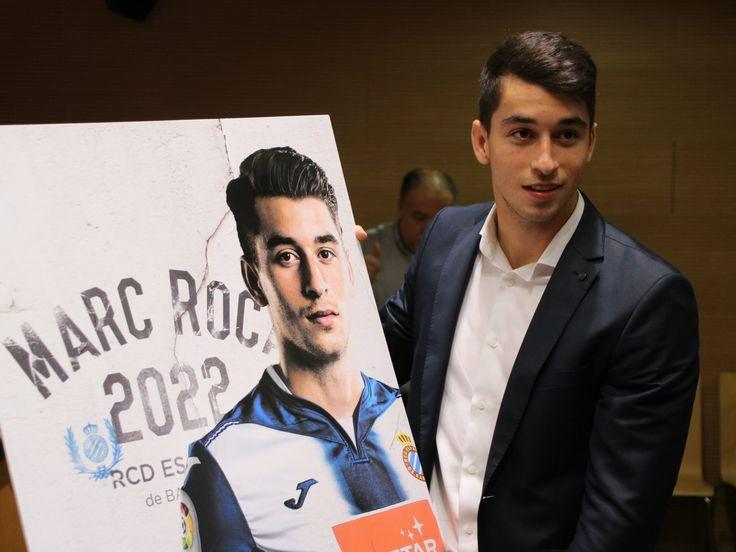 Marc Roca après sa prolongation de contrat jusqu'en 2022 #9ine @Espanyol