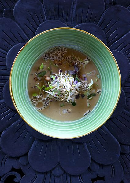 Our delicious traditional Balinese snail soup.