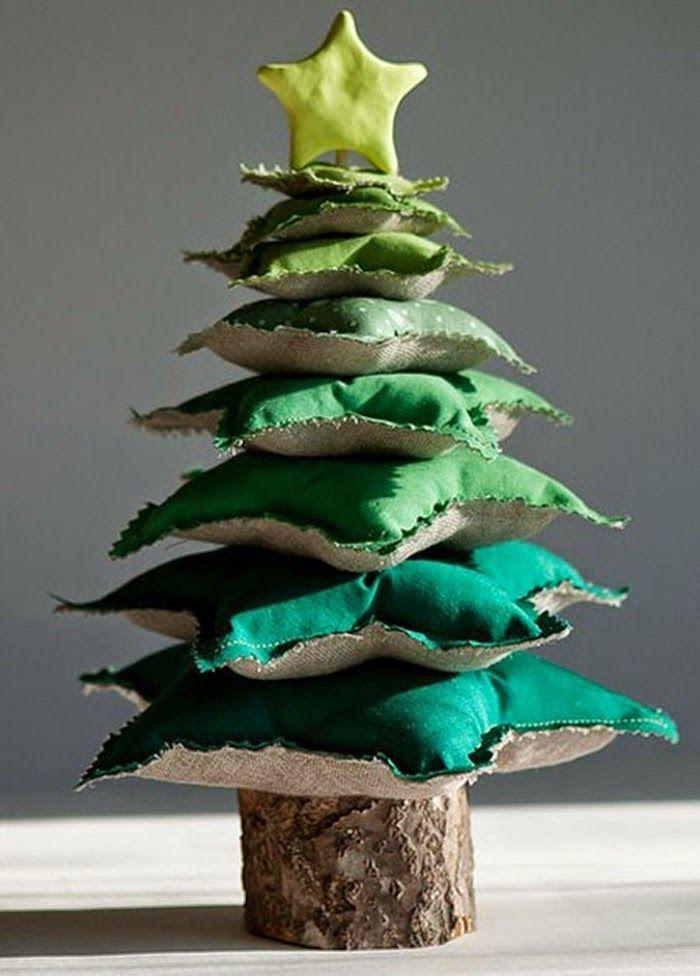 Новогодняя елка своими руками: 30 оригинальных идей   Sweet home