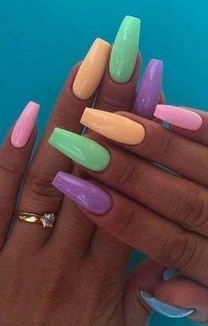 Einzigartige Summer Nail Designs 31 #AcrylicNailsOval – Acrylic Nails Oval