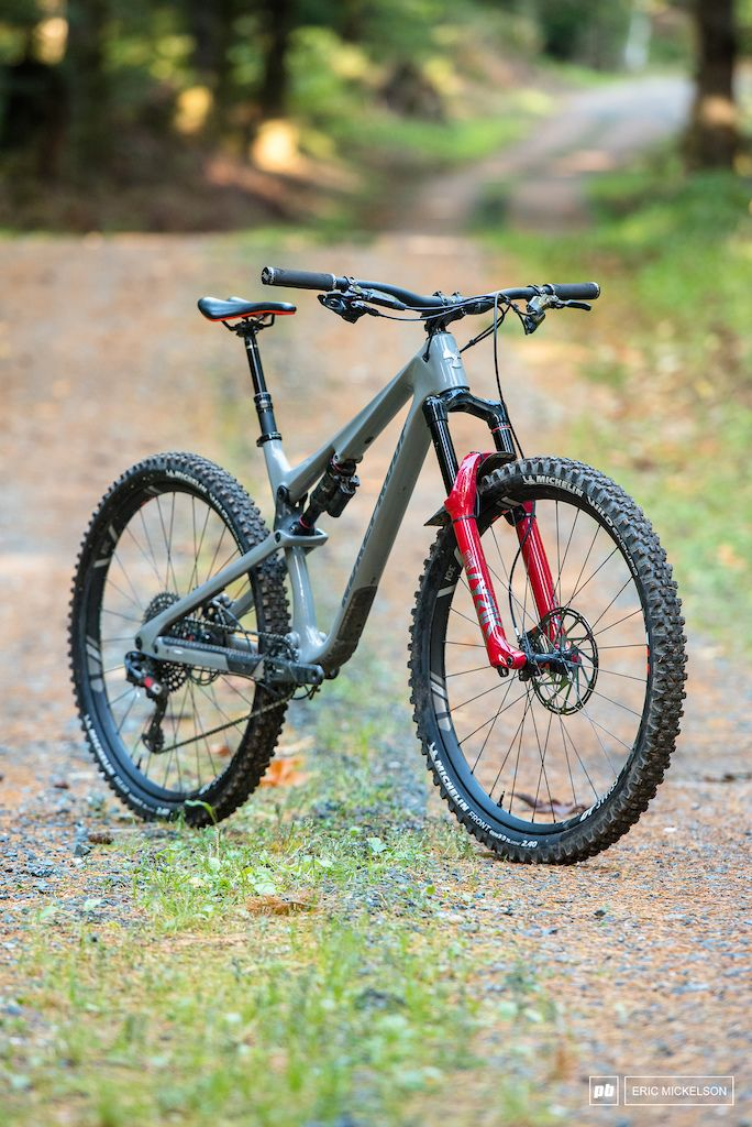 Review 2020 Nukeproof Reactor 290c Rs Bike Parking Trail
