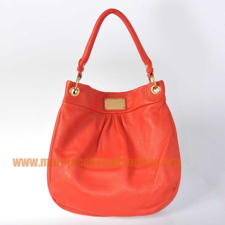 Cheap Marc Jacobs Classic Q Hillier Hobo Watermelon Red $171.50-marcjacobsbagsonline.org