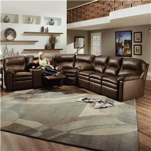 Touchdown Leather 3 Piece Sectional Sofa by Lane - Johnny Janosik - Reclining Sectional Sofa Delaware : wholesale leather sectionals - Sectionals, Sofas & Couches