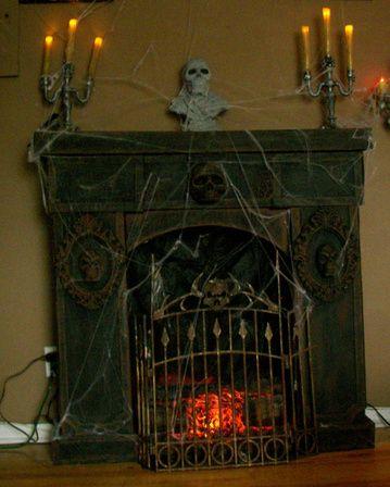 Best 25+ Halloween fireplace ideas on Pinterest | Classy halloween ...