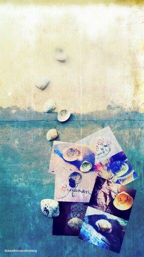 #journey #seashell #sea #sand #digitalart #digitalpainting #photography