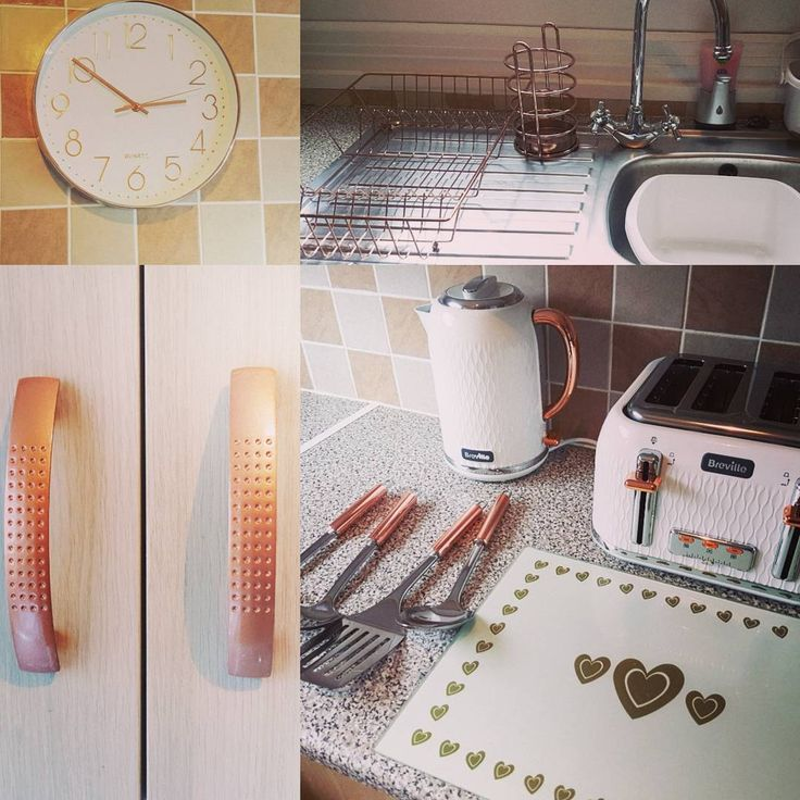 Rose Gold is the hottest new colour trend of 2017. Highlight your kitchen and give it a warm glow with accessorizing with stunning Rose Gold handles, lighting fixtures and accessories. Visit www.easylifekitchens.co.za for more trend inspiration Image: Instagram.com/old.home.new.home