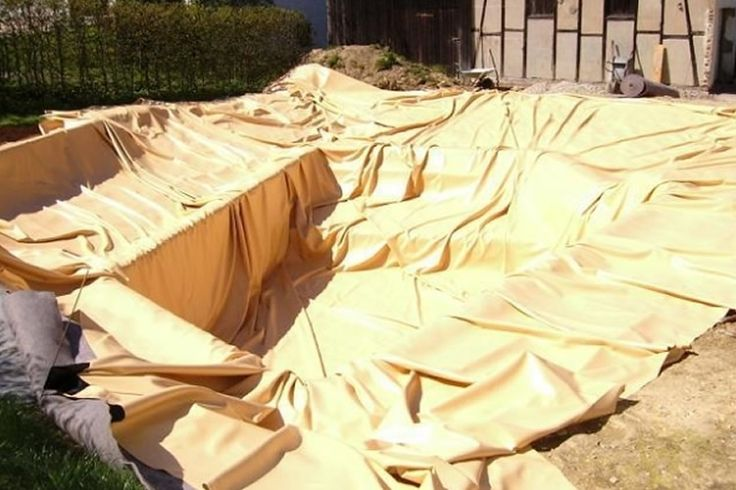 Bâche PVC liner - Etang bache : Bache PVC sur mesure de couleur, liners, protections pour bassins