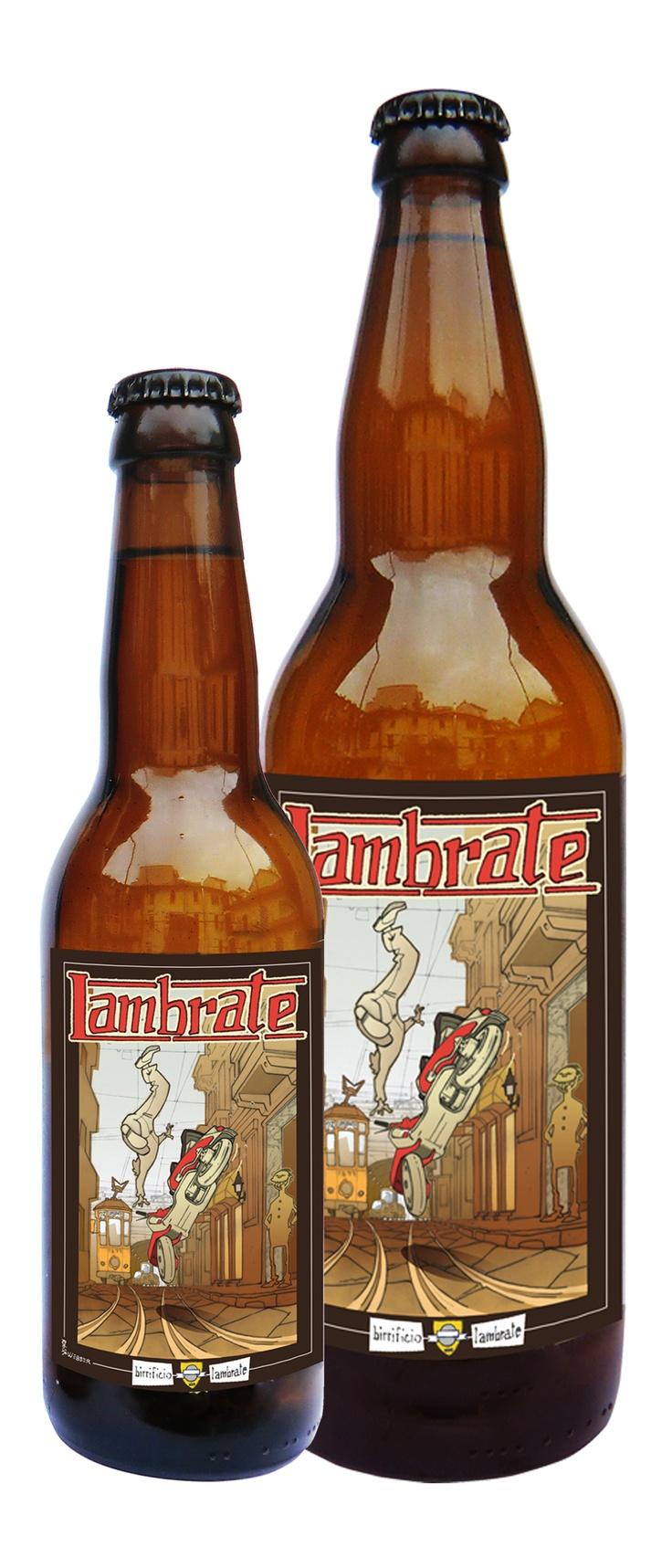 LAMBRATE Vol. 7 % Birra doppio malto in stile Bock, dolce con poco contrasto di amaro