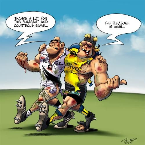 Rugby - The Gentlemen's Game: Hooligans Sports, Rugby Schtuff, Rugby League, Sports Plays, Gentleman Games, Toooooooo Funny, Rugby Rocks, Rugby Codes, Funny People
