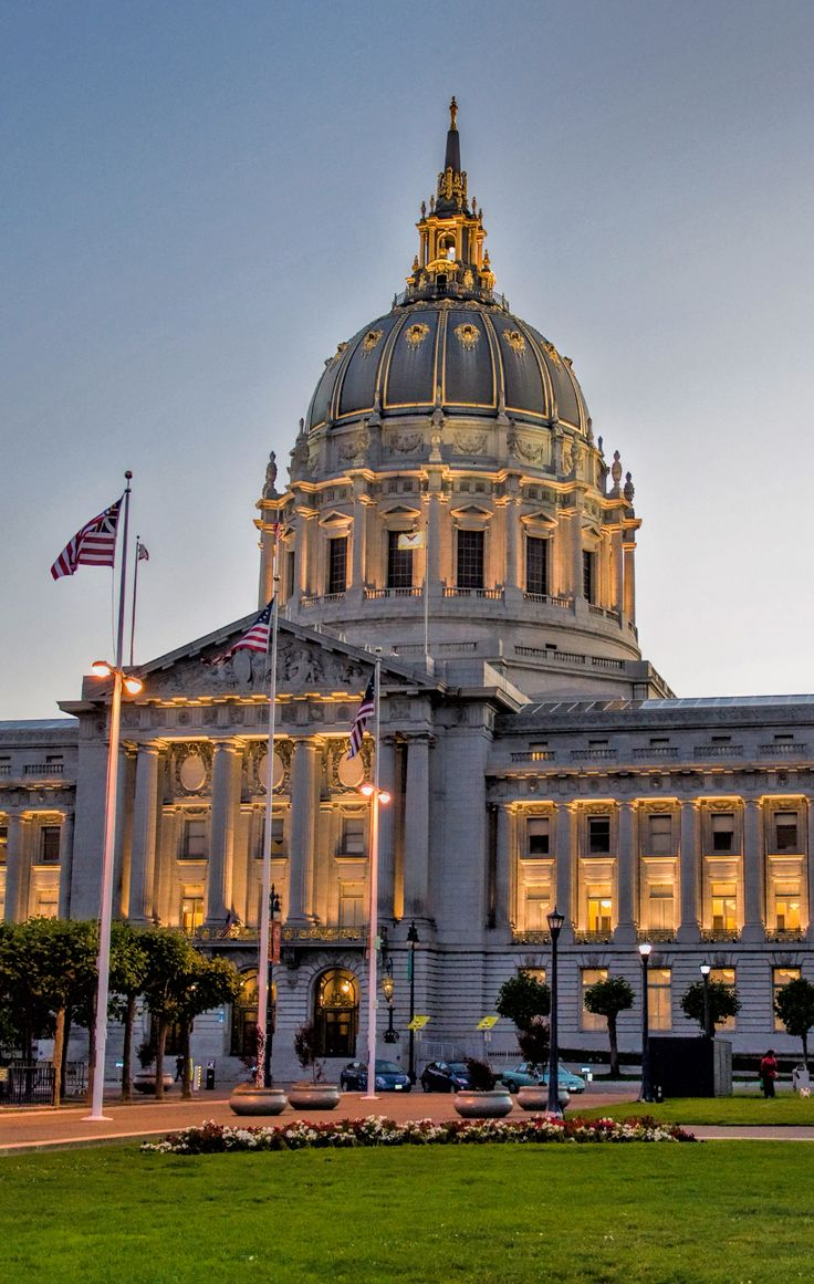 San Francisco City Hall. San Francisco, California.