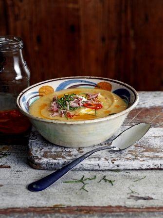 Spiced Parsnip & Lentil Soup | Vegetables Recipes | Jamie Oliver