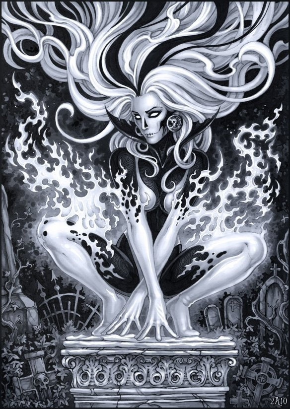 Silver Banshee (DC) by *Candra