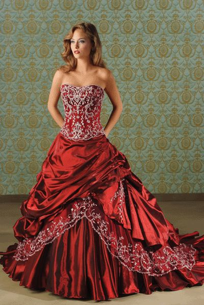 1000  ideas about Red Wedding Gowns on Pinterest - Red wedding ...