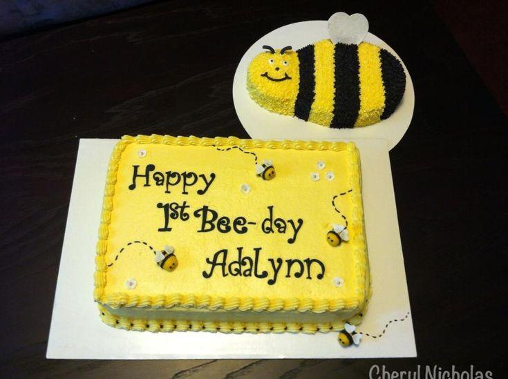 54 Best Bee 1st Birthday Images On Pinterest