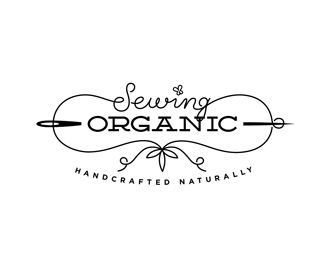 Logo Design - Sewing Organic