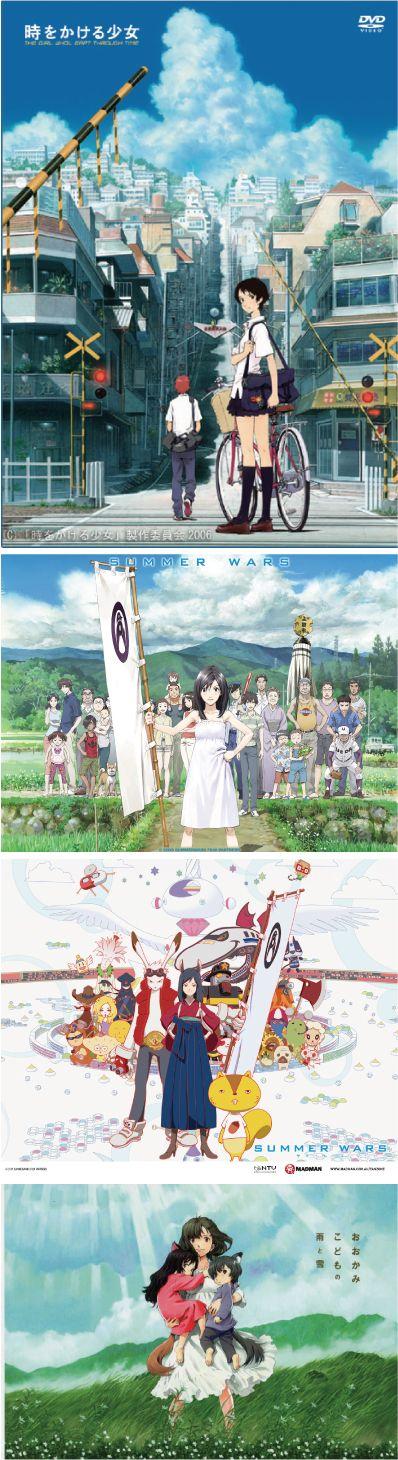 I Like Anime / Mamoru Hosoda