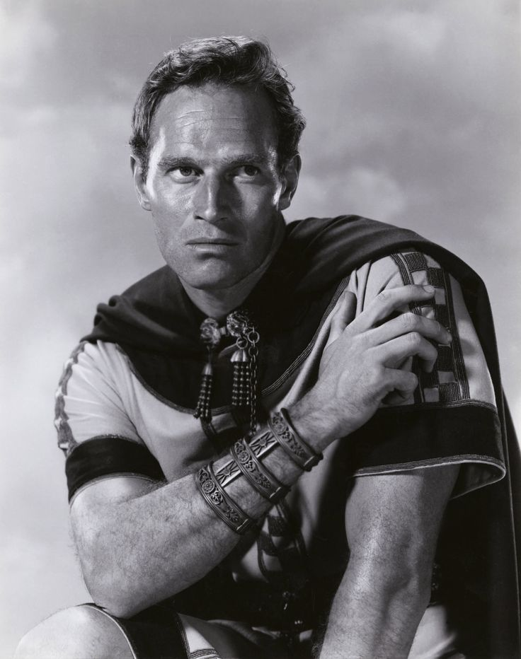 Charlton Heston as Ben-Hur. This excellent film won 11 Oscars at the 1960 academy awards including best picture.
