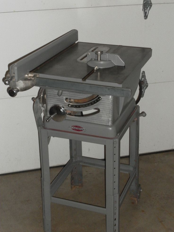 Craftsman Table Saw Old School Heavy Duty In Store