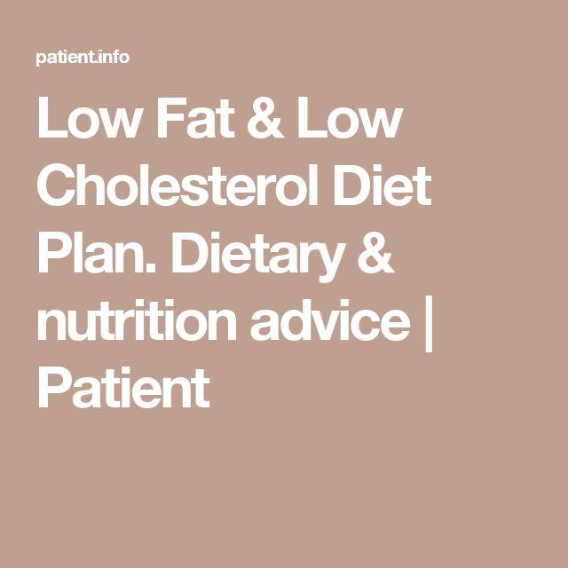 low fat diet plan pdf