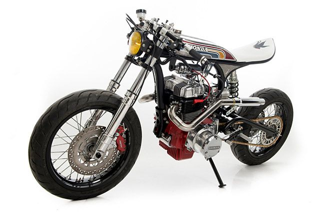 1979 Honda CBN400 by Ed Turner Motorcycles.