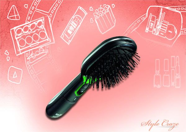 braun br710 satin hair active Ion straightening brush