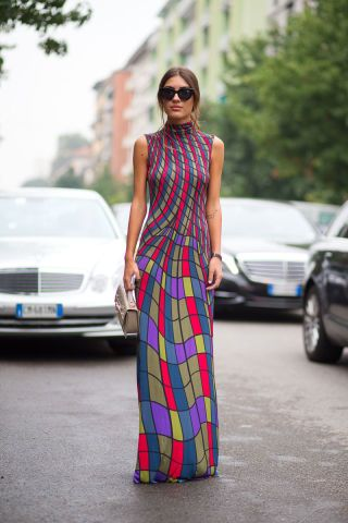 Brighten up your look with these bold outfit ideas spotted in Milan.