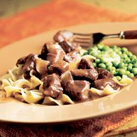 Serve our Beef in Red Wine Gravy with a slice of bread for dipping!