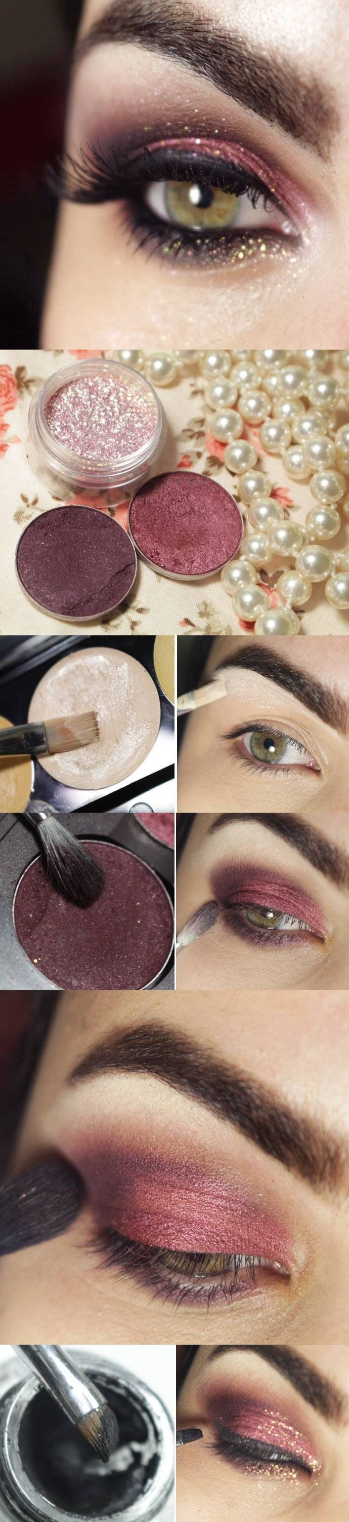 1575 Best Hair Beauty Images On Pinterest Makeup Inez Color Contour Plus Loose Eyeshadow Powder Sparkling Silver Love These Burnt Plum Colors They Look Awsome My Eyes