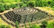 Beauty of Borobudur temple