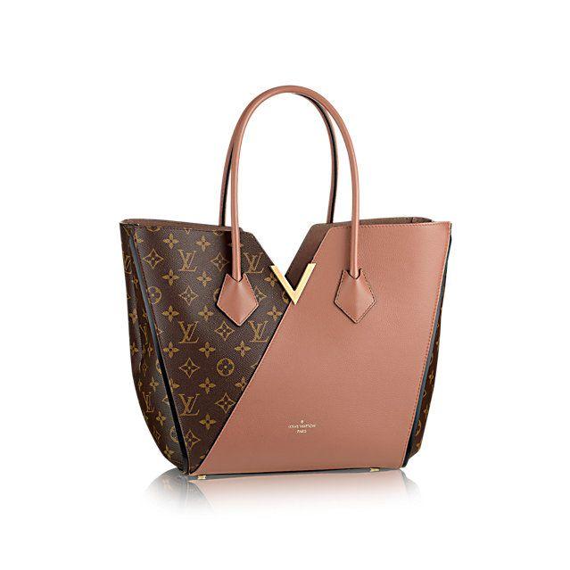 Kimono Louis Vuitton Monogram Canvas & Leather Handbag