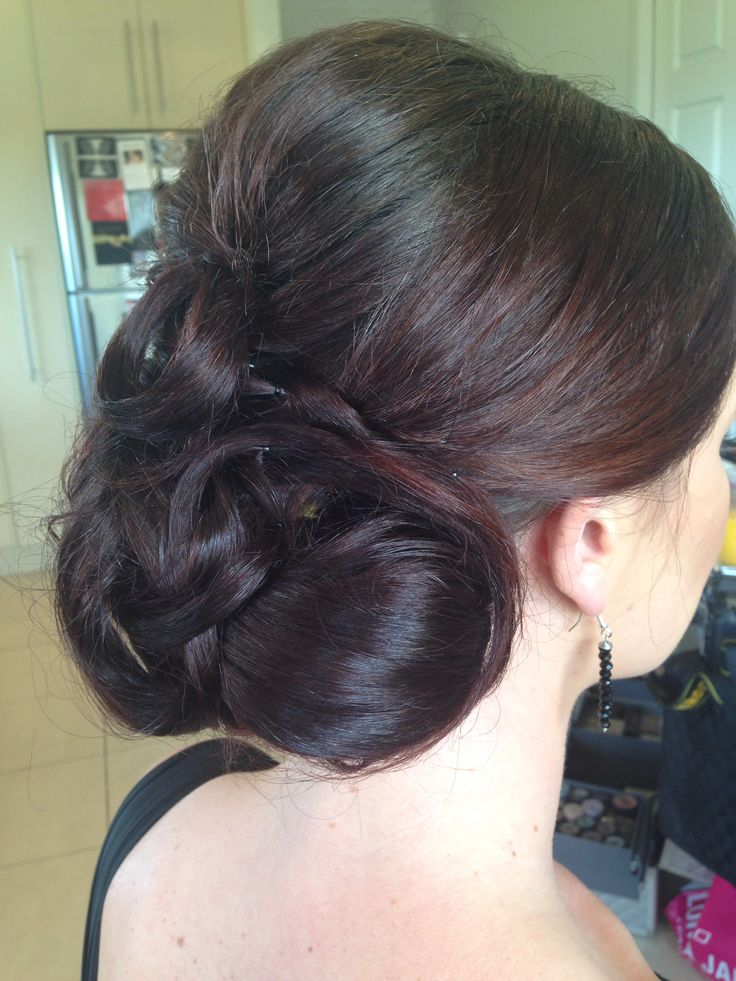 Bridesmaid hair by Kylie from Cosmic Cuts,Georgetown