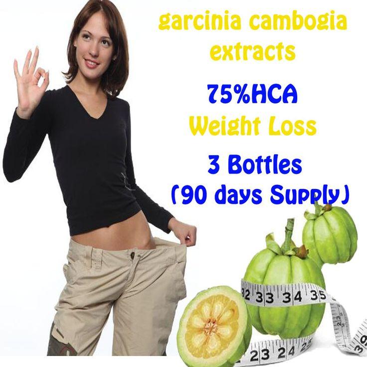 3 Botellas de hca garcinia cambogia extractos anti celulitis Quema de Grasa Pérdida de Peso efectiva dieta NATURAL PURO productos Adelgazantes