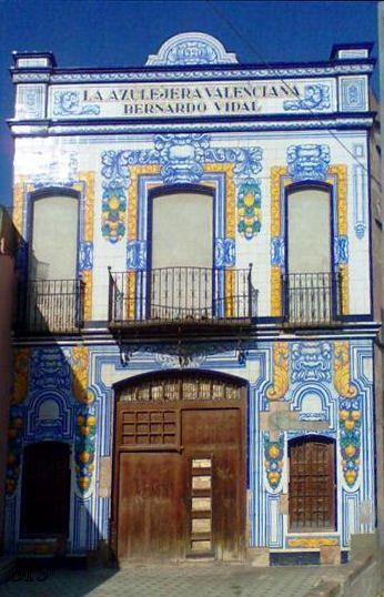Cerámicas y azulejos, Meliana, Valencia, España.