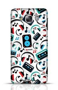 Music Lovers Samsung Galaxy E7 Phone Case