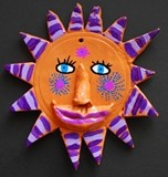 Mexican Clay Suns
