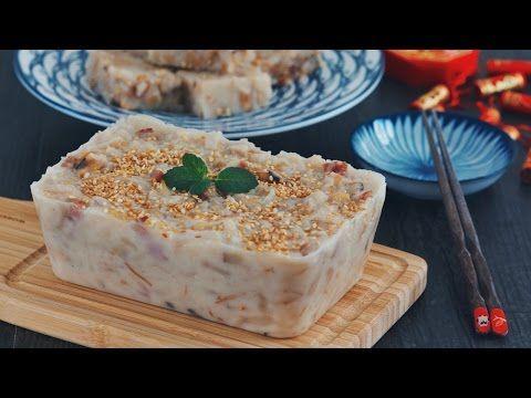 蘿蔔糕-7斤蘿蔔1斤粉柔軟不散開的配方 Turnip Cake - YouTube