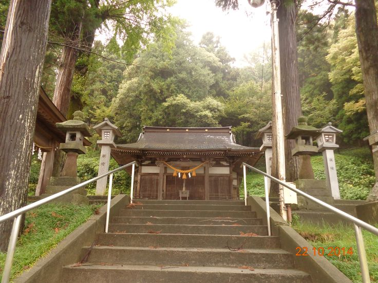 This is the temple which is near Toyama College.