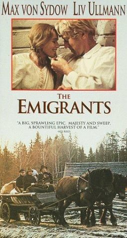 Directed by Jan Troell.  With Max von Sydow, Liv Ullmann, Eddie Axberg, Sven-Olof Bern. In the middle of the 19th century, Kristina and Karl-Oskar live in a small rural village in Smaaland (southern Sweden). They get married and try to make a living on a small spot of land. However, the small size of their land, the infertile soil, and some bad harvests makes it tough. One of their children even starve to death. Thus, they decide to emigrate to the U.S. They meet a group of farmers ...