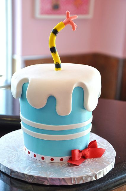Dr Seuss cake -- maybe same concept but turn it into a monster cake?