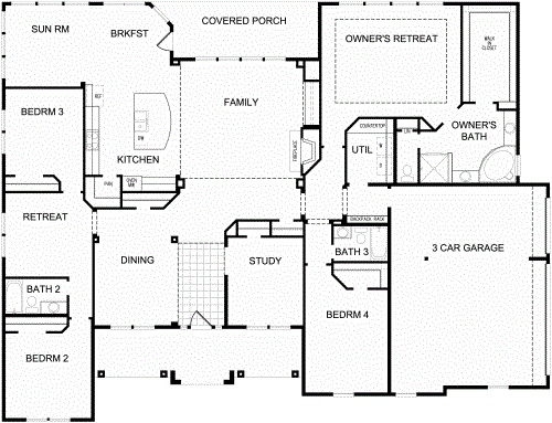 1000 images about dream home on pinterest fireplace for David homes floor plans